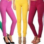 Celana Jeans Warna Cerah Jadi Trend 2013