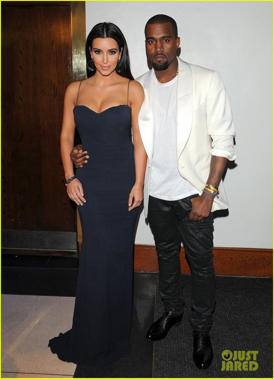 Kim Kardashian and Kanye West departing from the FiFi UK Fragrance Awards atThe Brewery, Chiswell Street, London,