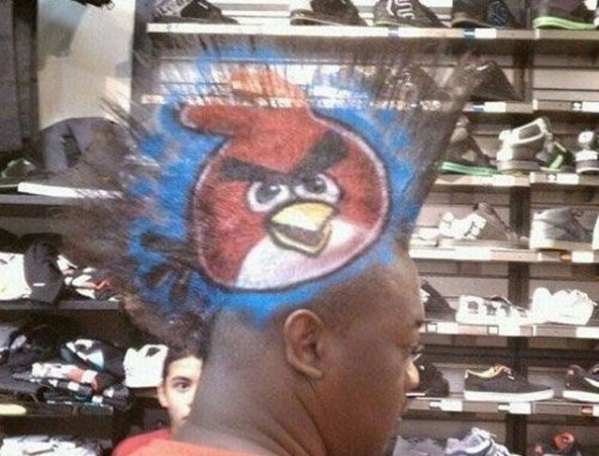 rambut-angrybird