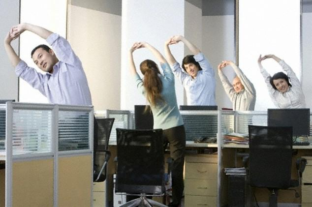 olahraga-di-kantor