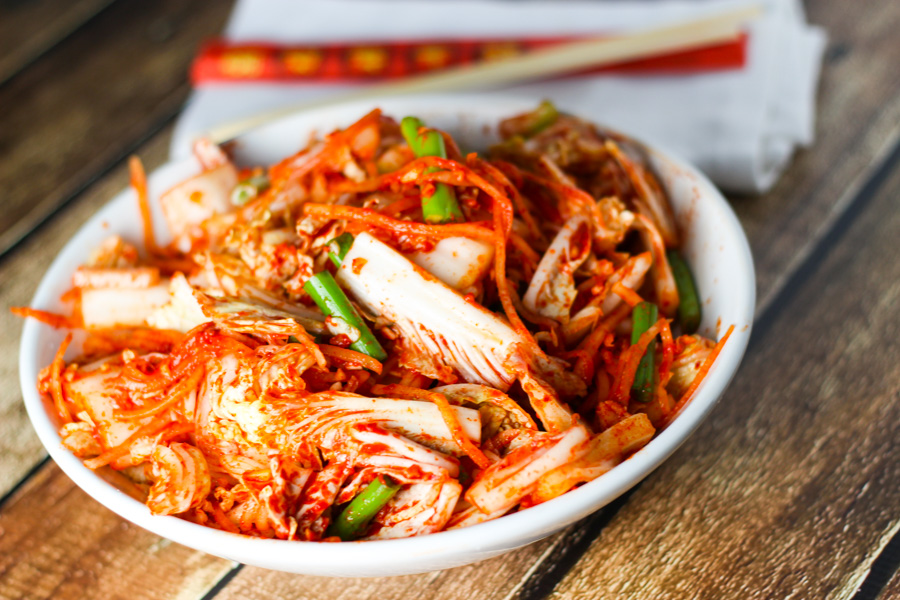 Makanan Drama Korea Kimchi