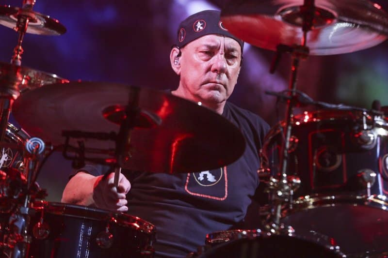 Drummer Band Rush, Neil Peart Meninggal