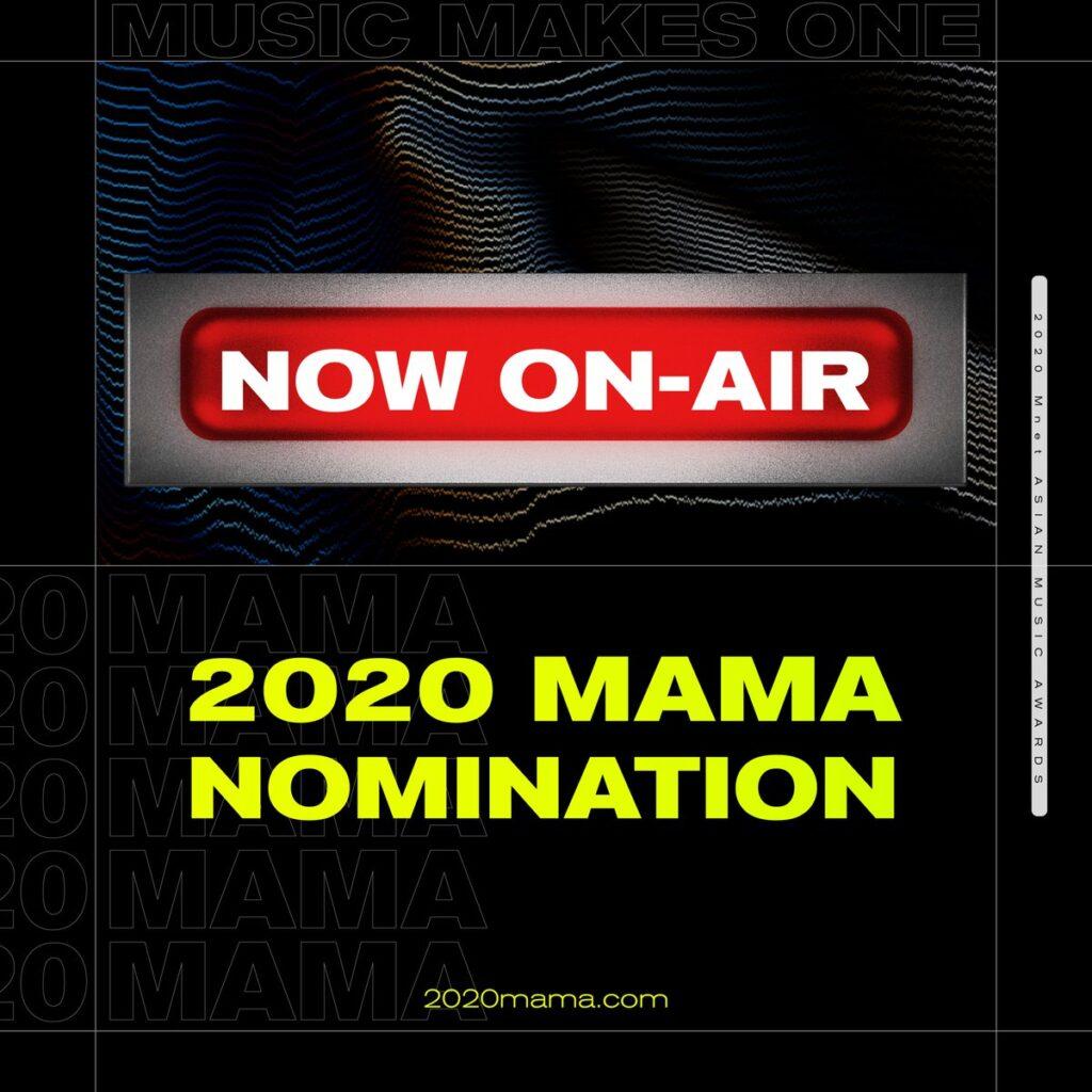 Daftar Nominasi Mnet Asian Music Awards MAMA 2020