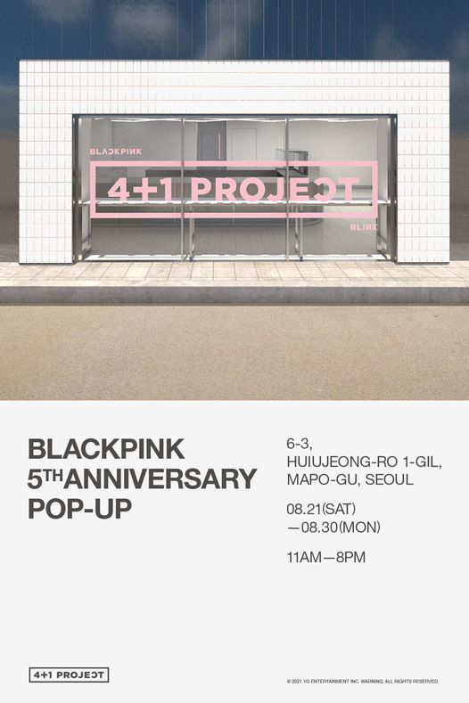 BLACKPINK 4+1 POP-UP